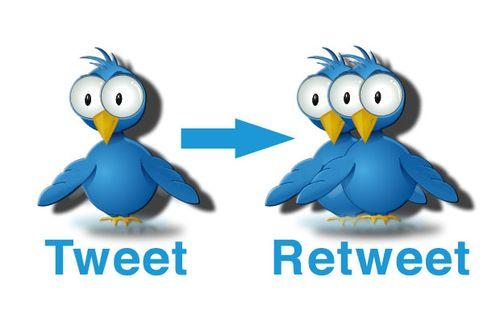 Retweet в Twitter