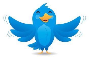 Прозрачная панель в Twitter