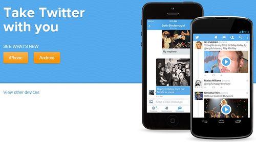 Скачать Twitter-клиент на свой мобильный