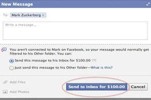 Написать Марку Цукенбергу (основателю Фейсбук)