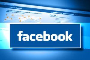 Логотип Facebook на кирилице