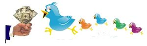 Реклама от Twitter полностью адаптирована под сообщения