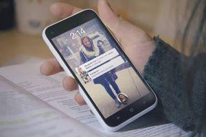 Оболочка социальной сети Facebook в интернете
