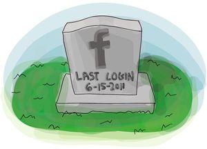 Социальная сеть для мертвых от Facebook