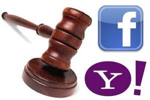 Yahoo судится с социальной сетью Facebook