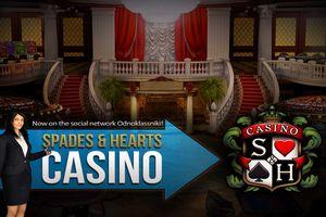 Spades & Hearts Казино - игра в Одноклассниках