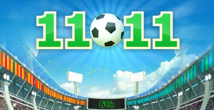 Игра «11x11 - настоящий футбол» на VK.com