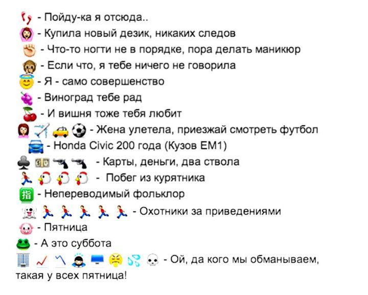 Значение смайлов на Одноклассниках
