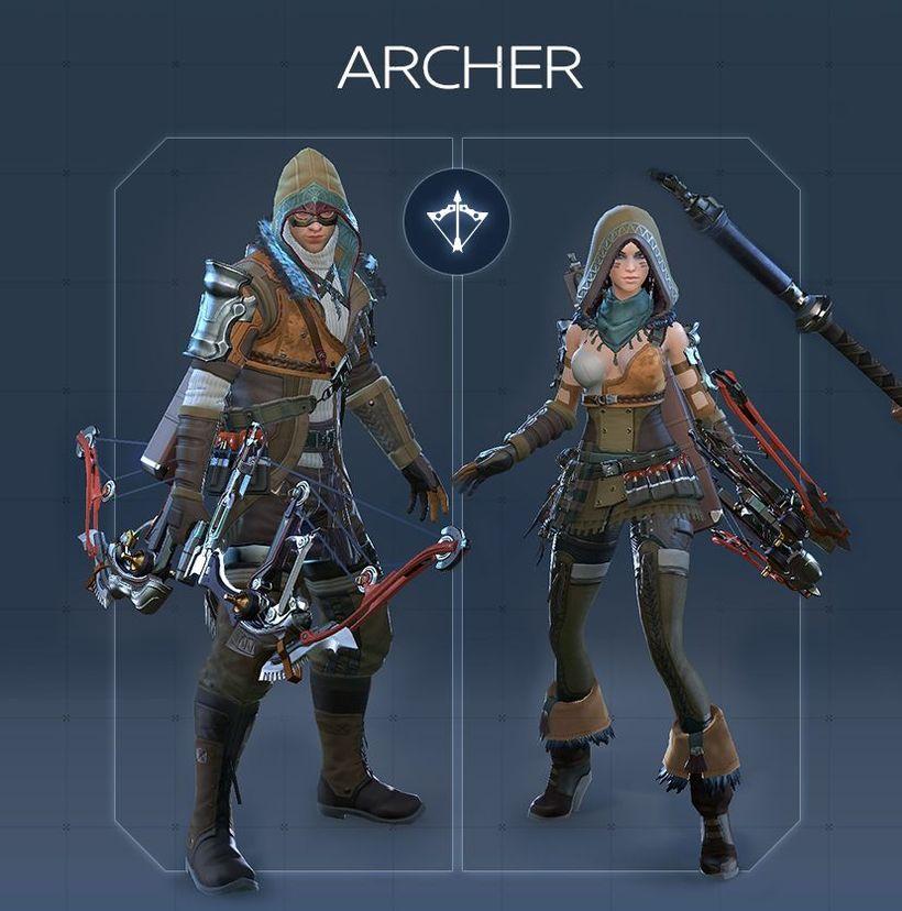 Обзор класса Archer в Skyforge