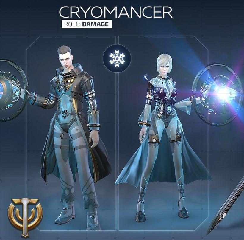 Обзор класса Cryomancer в Skyforge