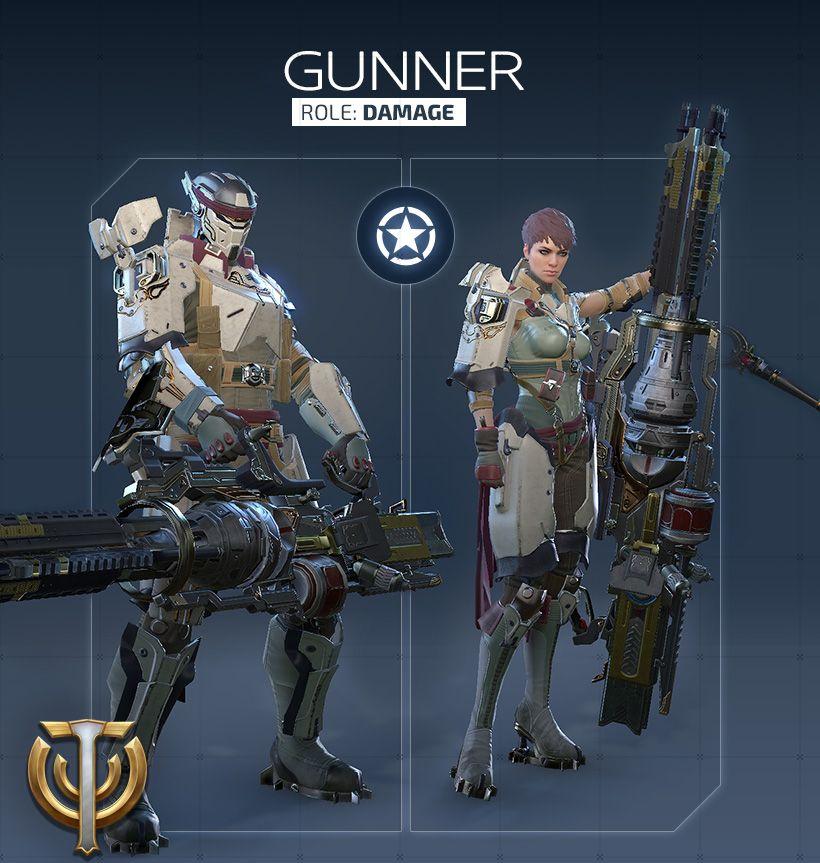 Обзор класса Gunner в Skyforge