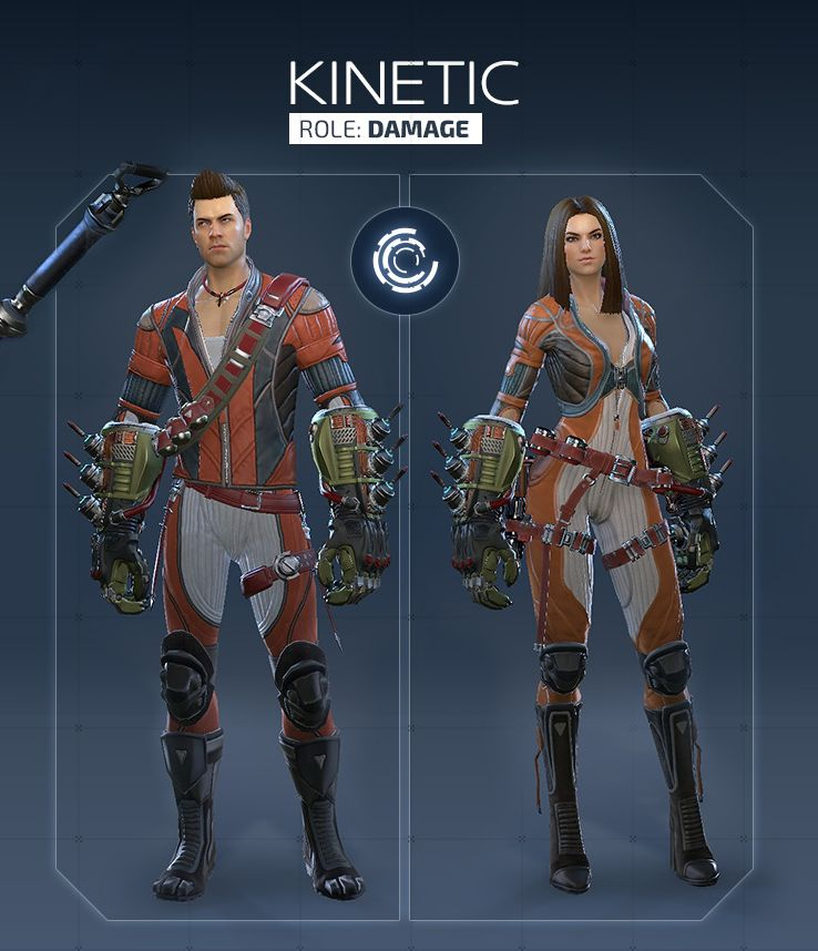 Обзор класса Kinetic в Skyforge