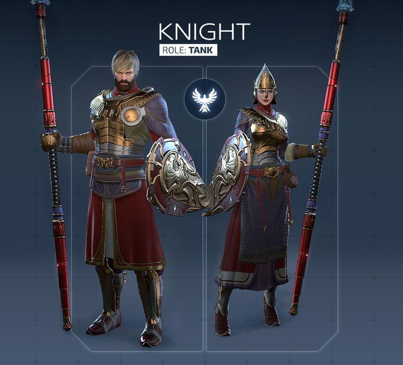 Обзор класса Knight в Skyforge
