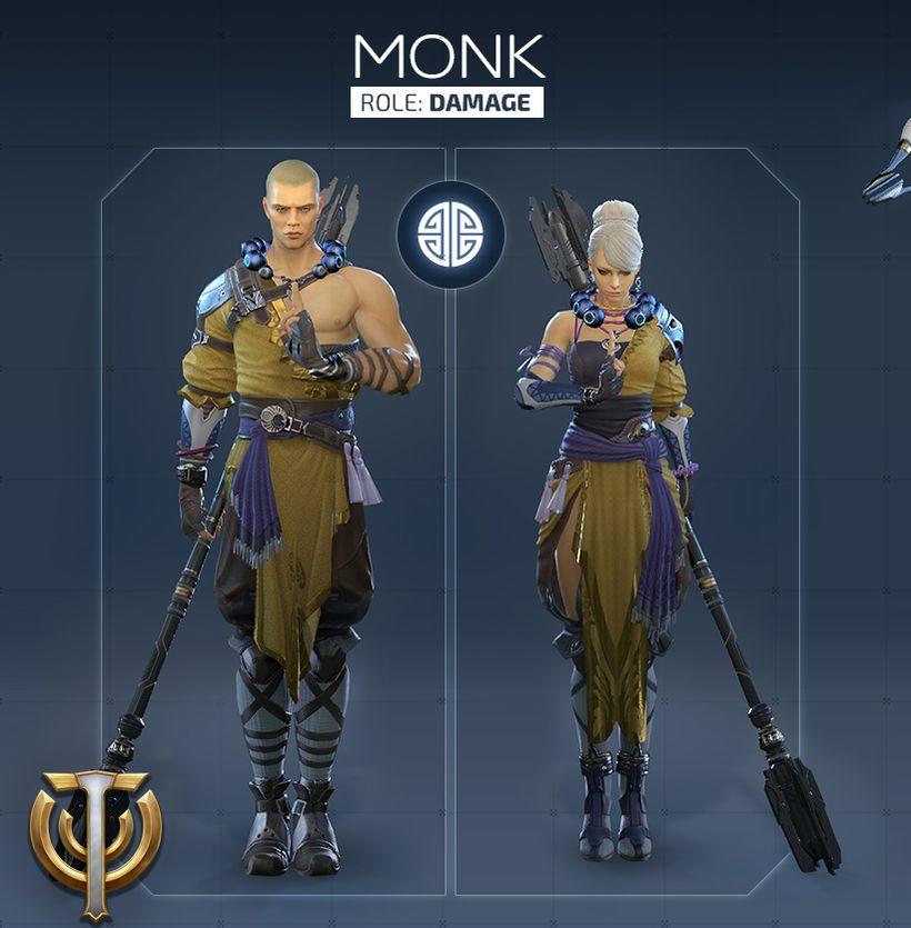 Обзор класса Monk в Skyforge
