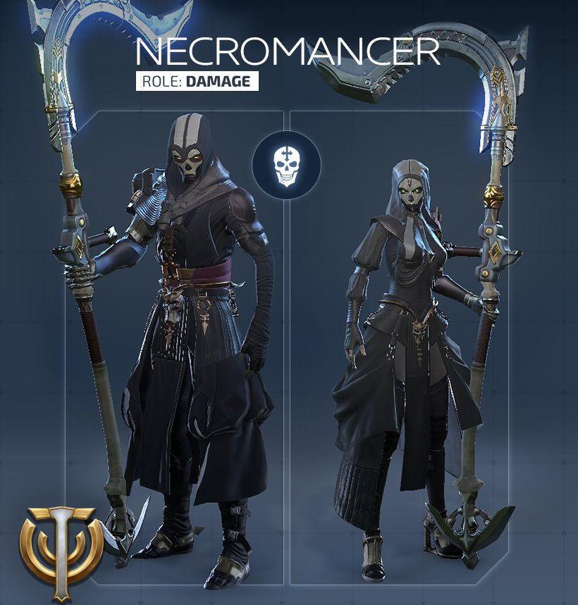 Обзор класса Necromancer в Skyforge