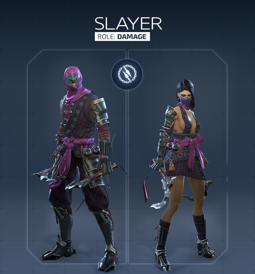 Обзор класса Slayer в Skyforge