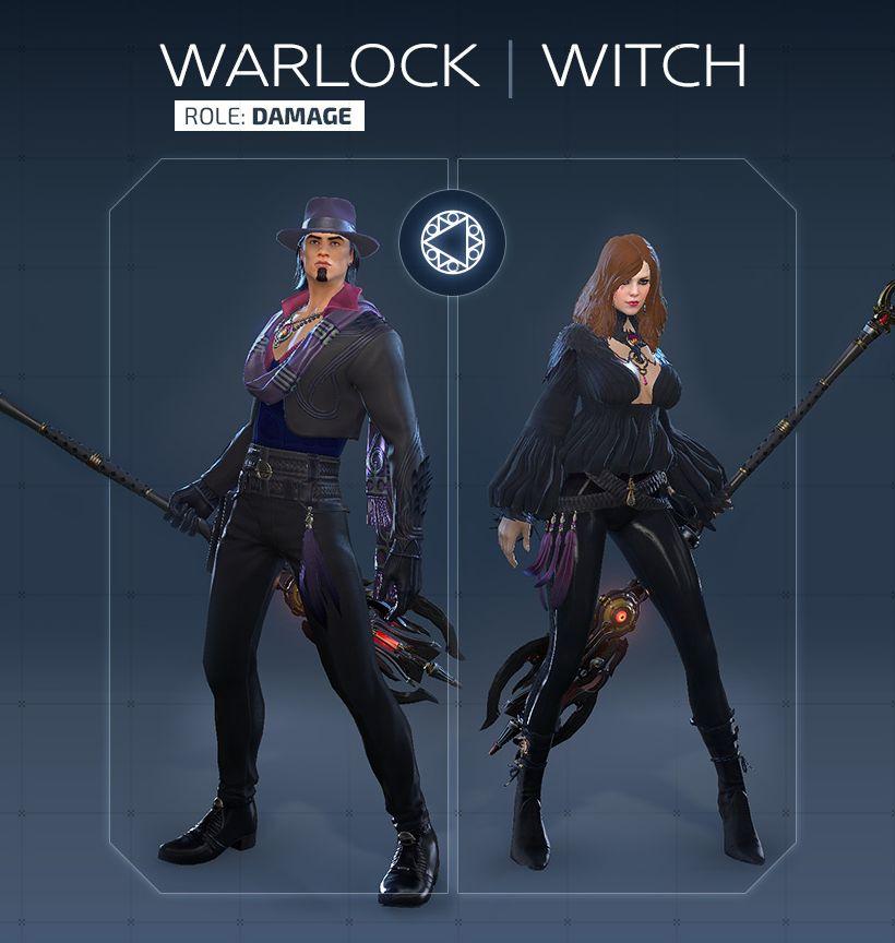 Обзор класса Warlock / Witch в Skyforge