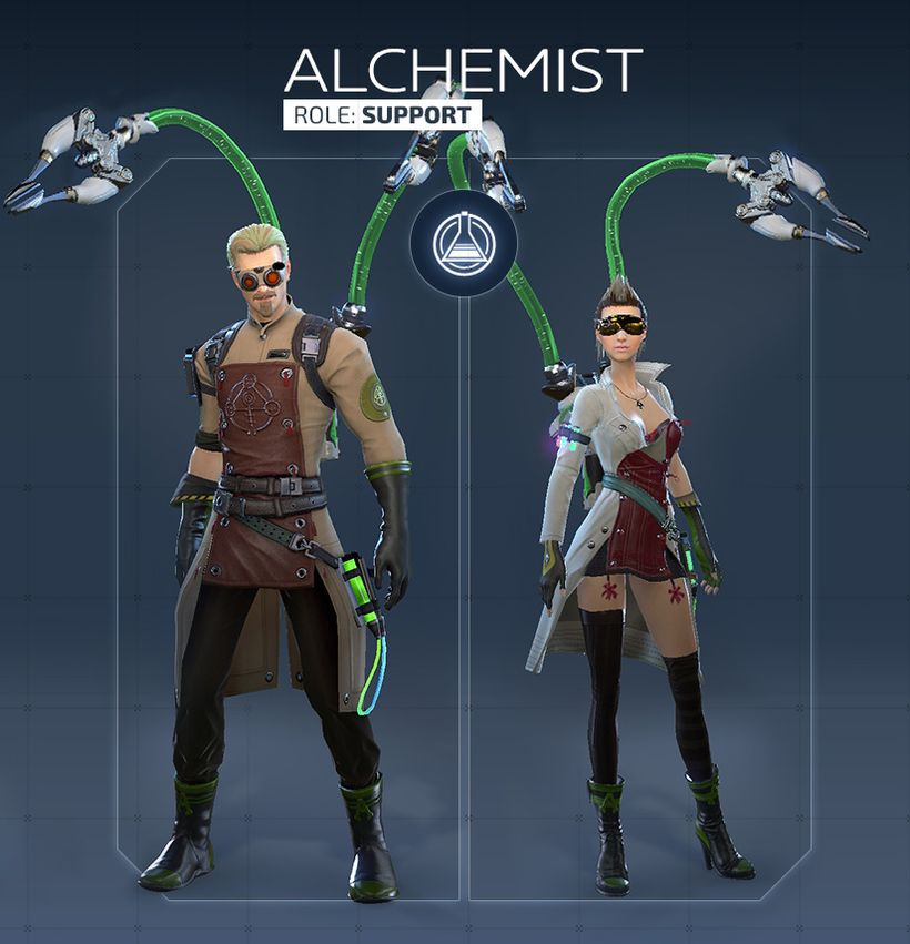 Обзор класса Alchemist в Skyforge