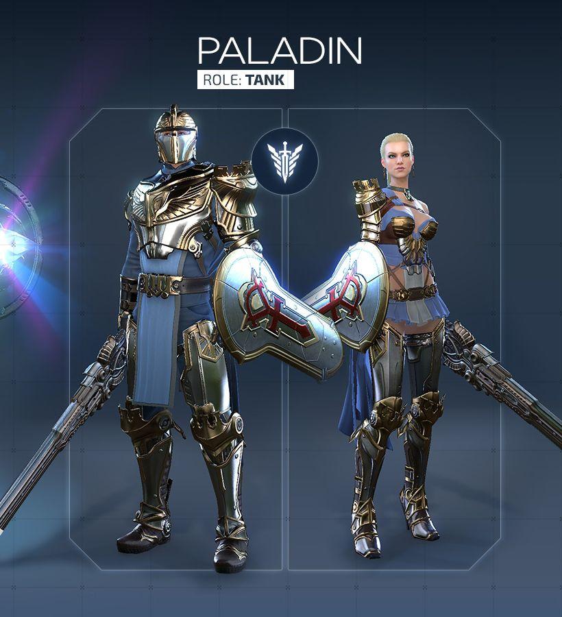 Обзор класса Paladin в Skyforge