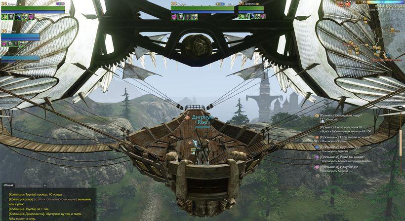 Дирижабль в ArcheAge