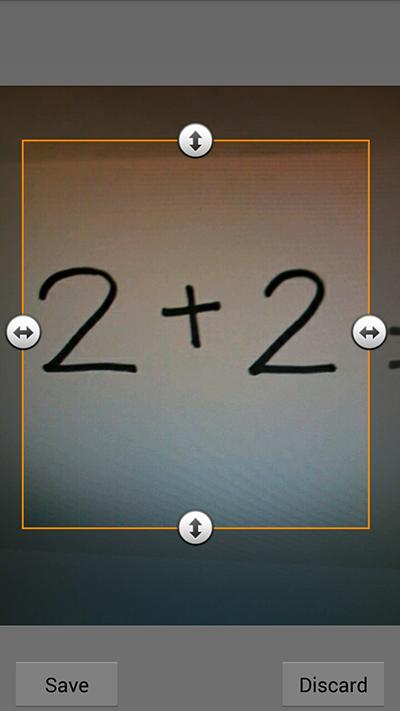 Фото-калькулятор для Android